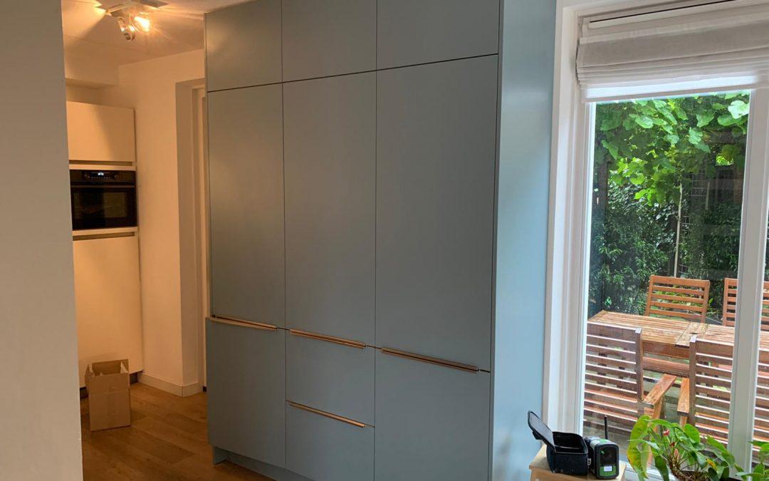 Uitbreiding op bestaande keuken in Amersfoort