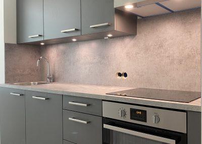 Projectkeuken appartement in Amersfoort
