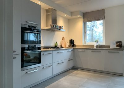 Keuken in nieuwbouwwoning