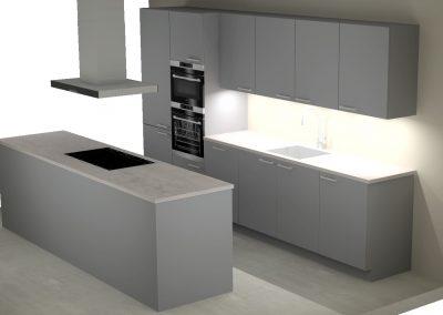 2 luxe keukens t.b.v. woongroepen in Vianen