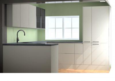 Moderne U-keuken in regio Hoevelaken